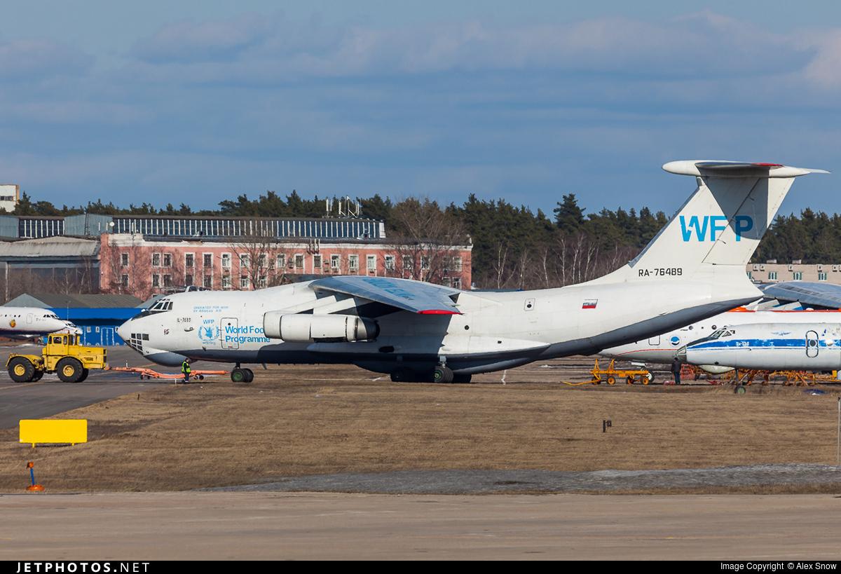 RA-76489 - Ilyushin IL-76TD - Abakan Air