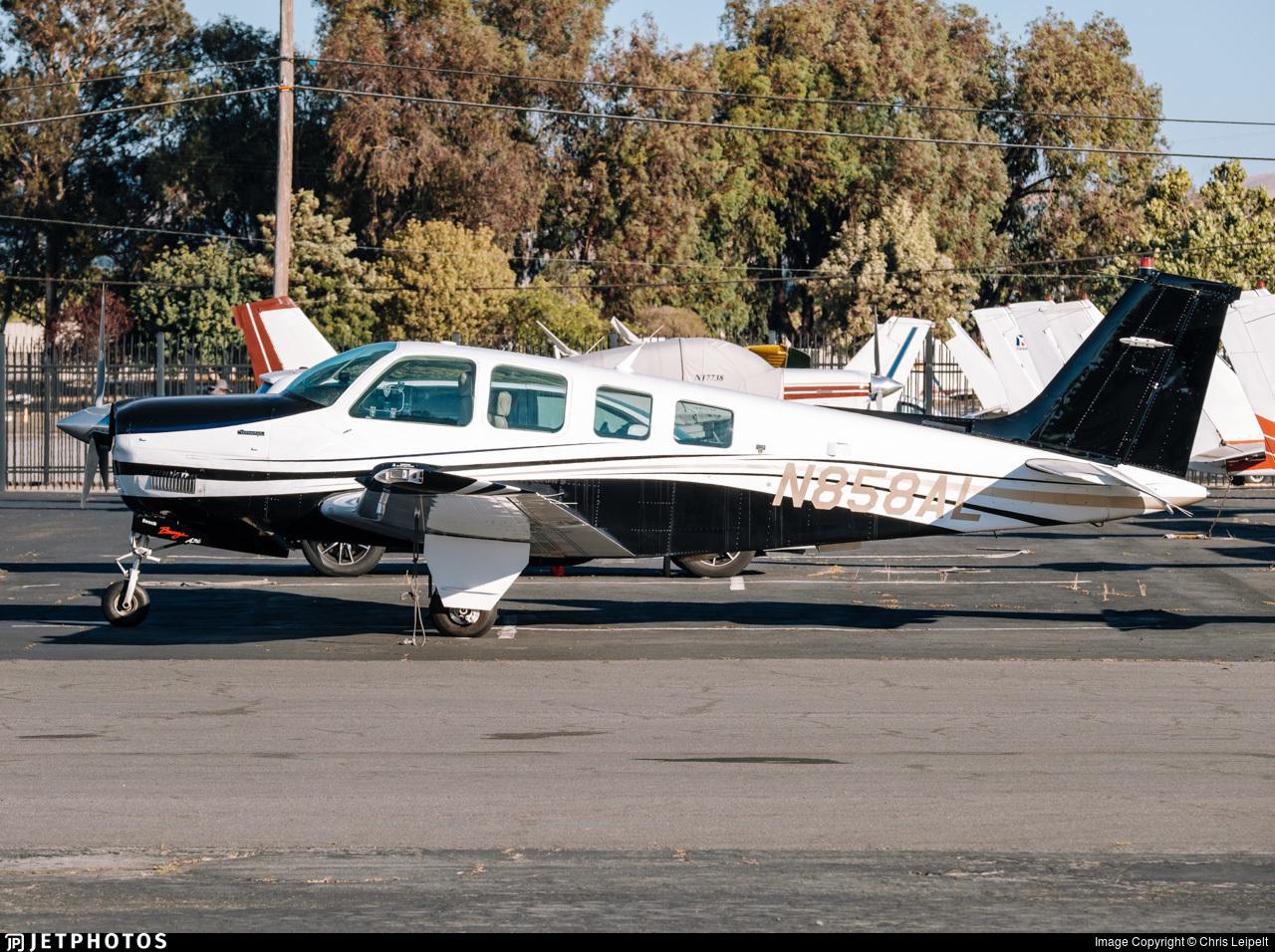 N858AL - Beechcraft A36 Bonanza - Private