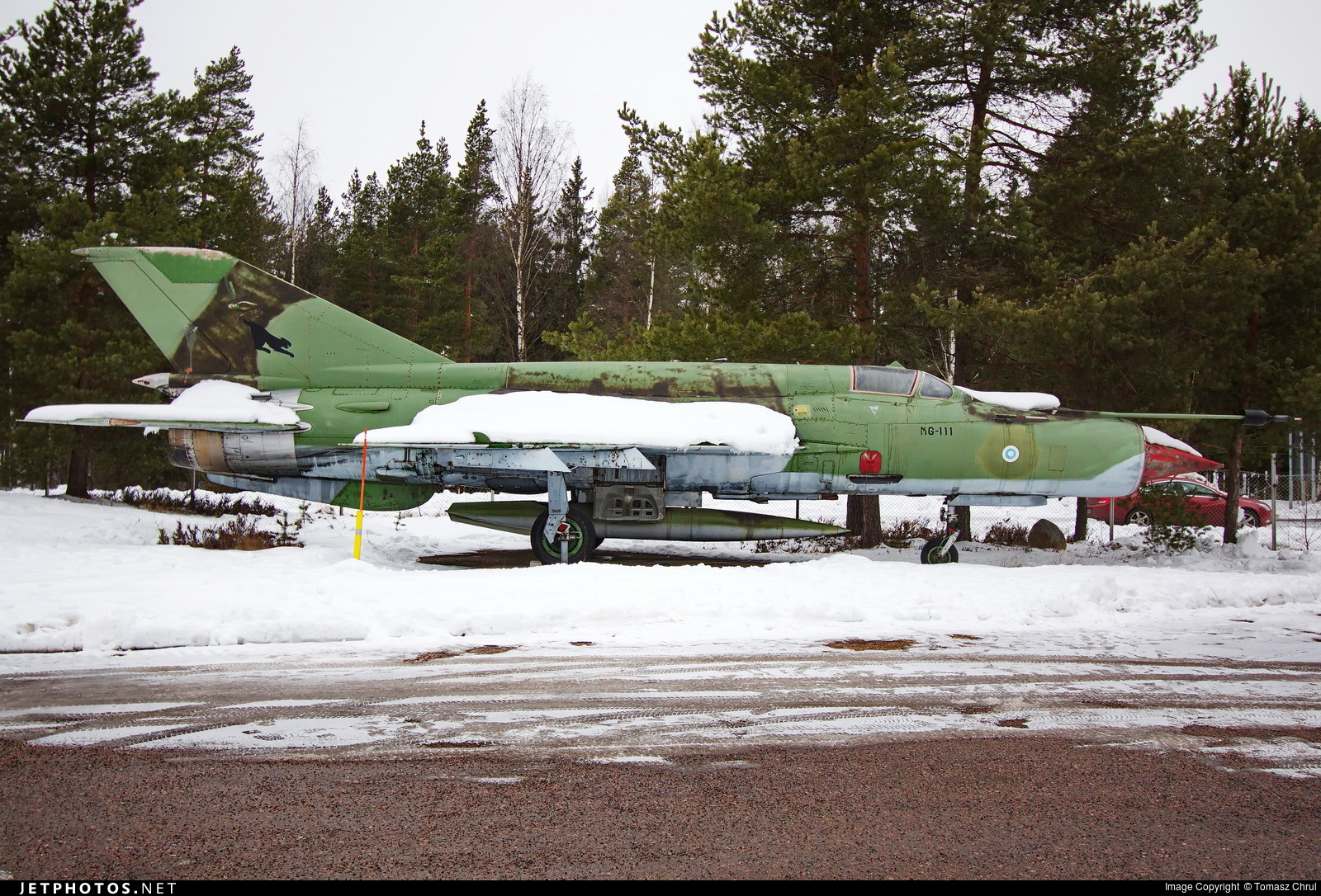 MG-111 - Mikoyan-Gurevich MiG-21bis Fishbed L - Finland - Air Force