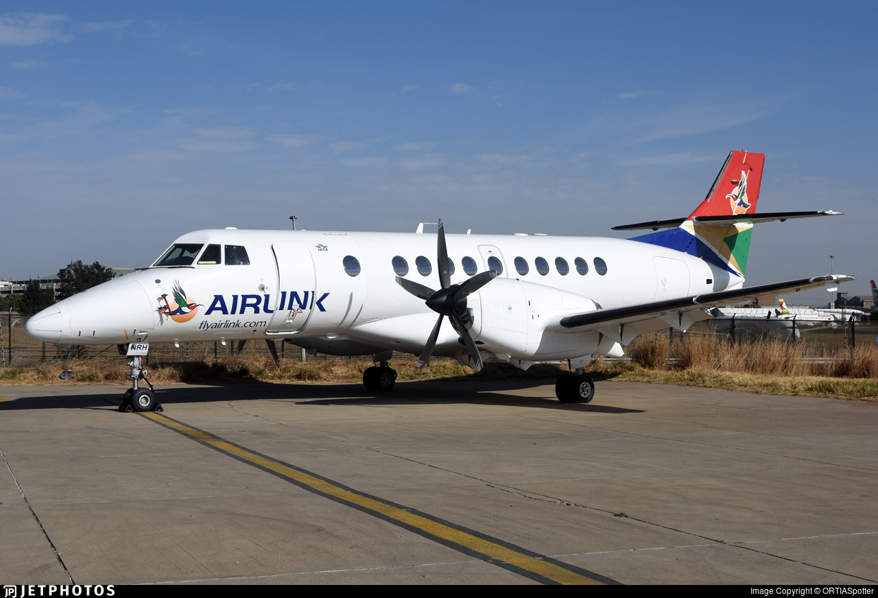 ZS-NRH - British Aerospace Jetstream 41 - Airlink