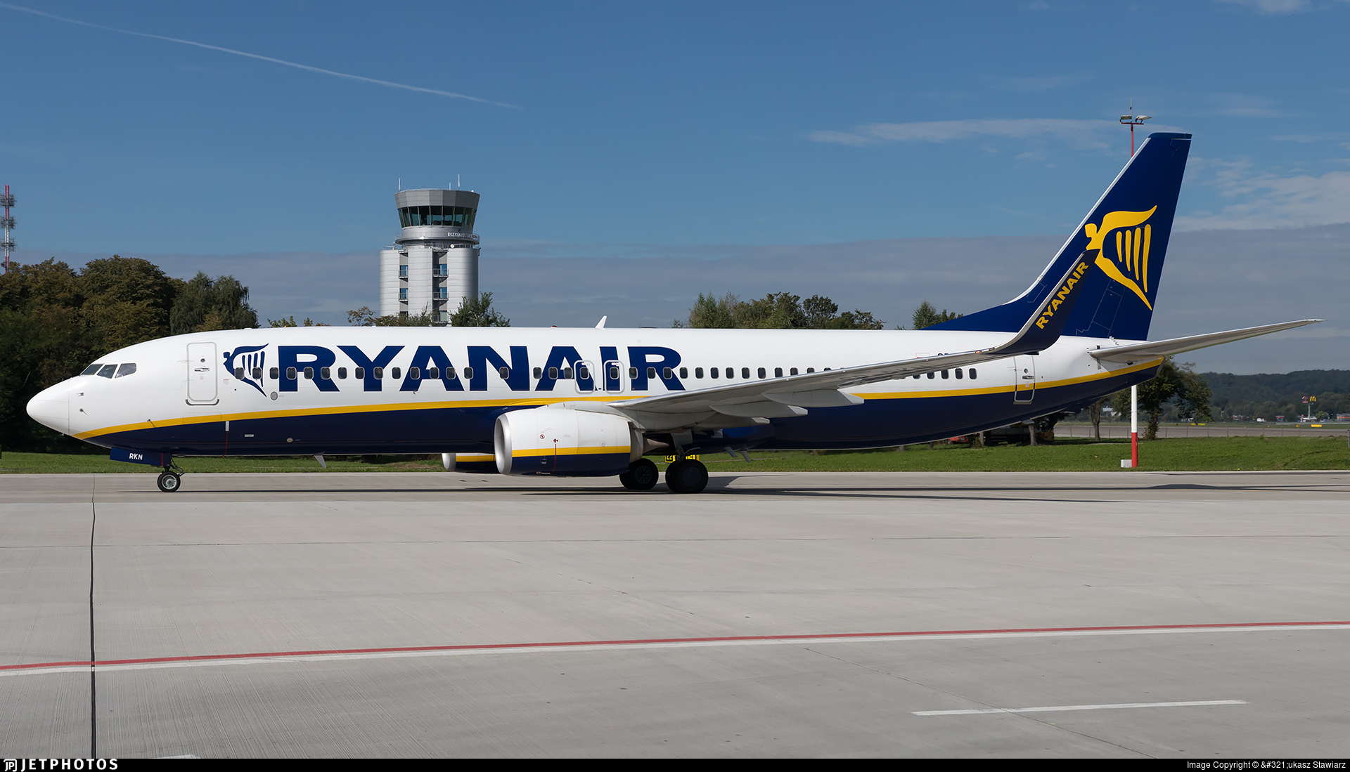 SP-RKN - Boeing 737-8AS - Ryanair Sun