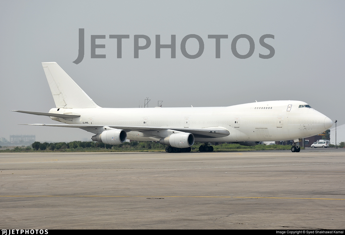 4L-RMS - Boeing 747-281B(SF) - The Cargo Airlines