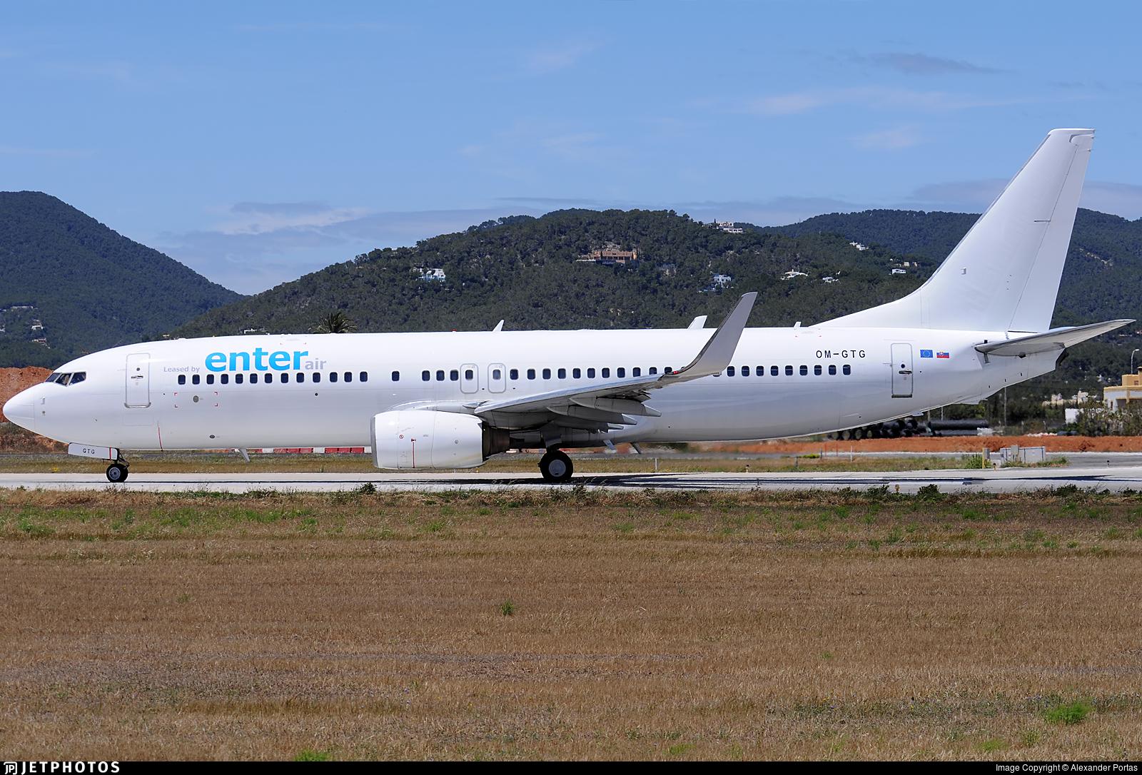 OM-GTG - Boeing 737-84P - Enter Air (Go2Sky)