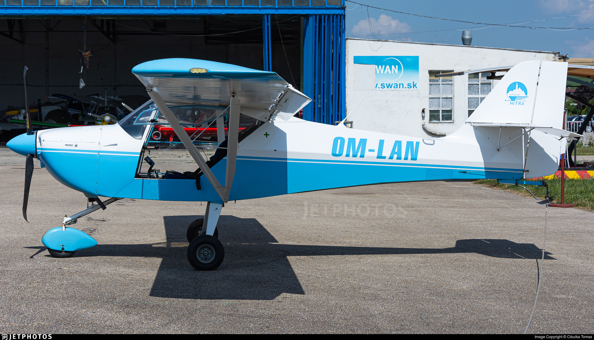 OM-LAN - Aeropro Eurofox 912-2 - Private