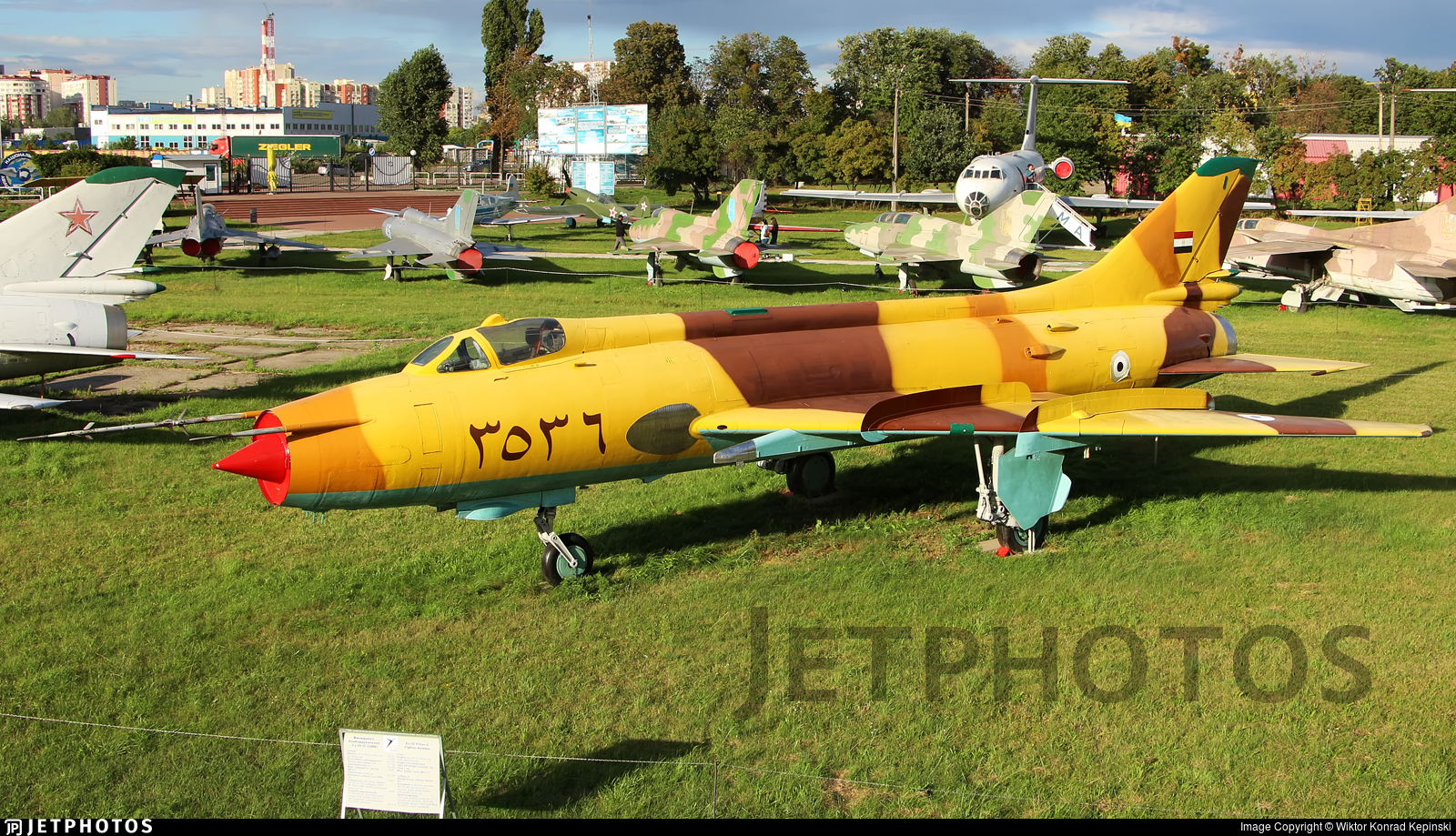 3536 - Sukhoi Su-17M Fitter C - Egypt - Air Force