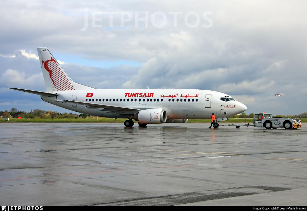 TS-IOH - Boeing 737-5H3 - Tunisair