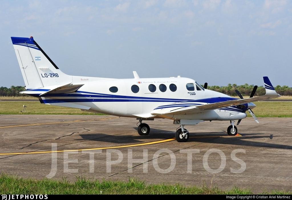 LQ-ZRB - Beechcraft C90B King Air - Argentina - Government of the Province of Santiago del Estero