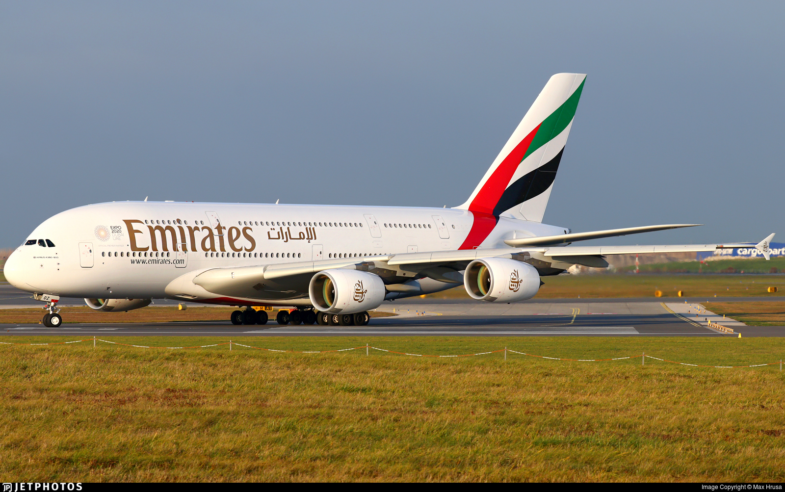 A6-EOZ - Airbus A380-861 - Emirates