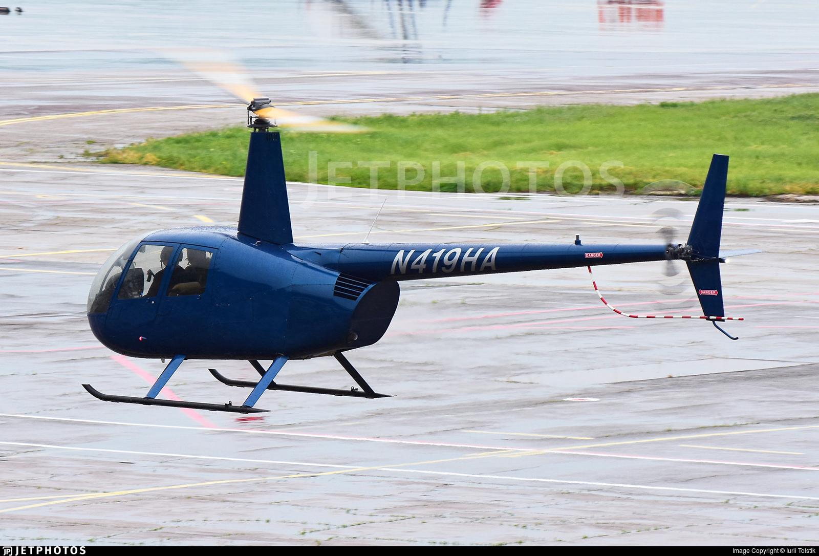 N419HA - Robinson R44 Raven - Private