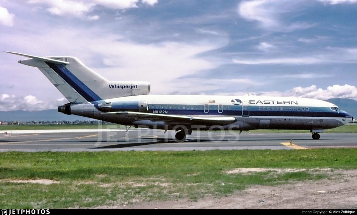 N8122N - Boeing 727-25 - Eastern Air Lines