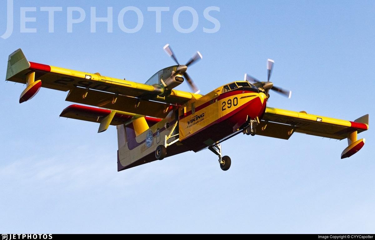 C-GBYU - Canadair CL-415 - Viking Air