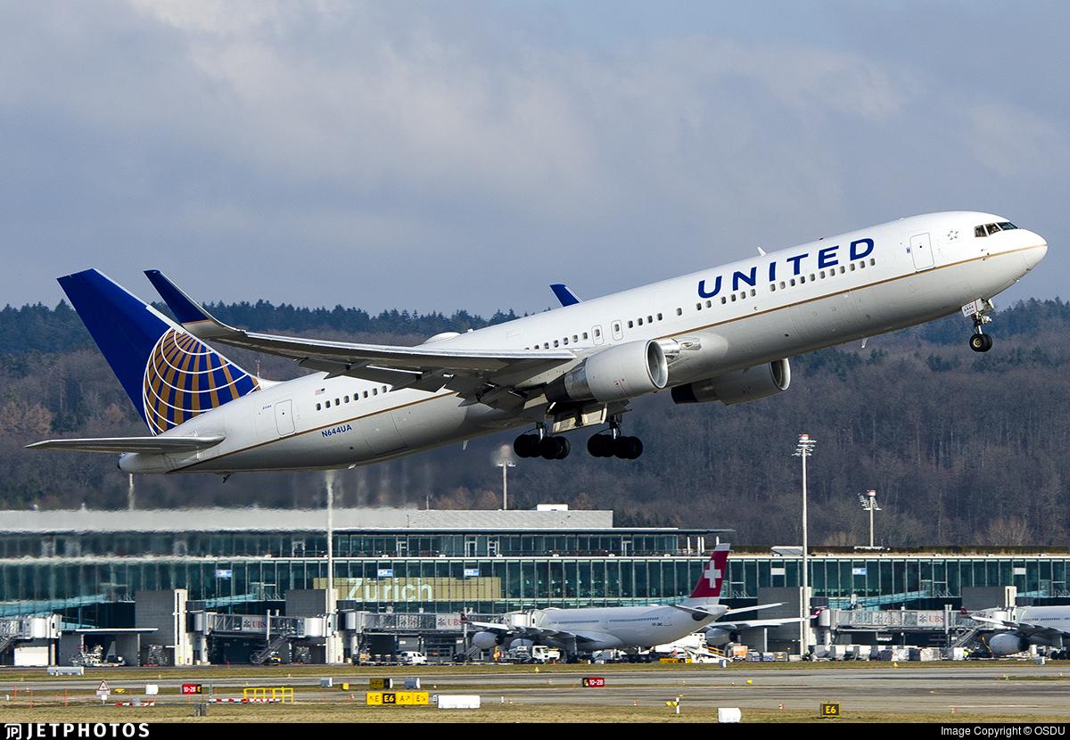 N644UA - Boeing 767-322(ER) - United Airlines
