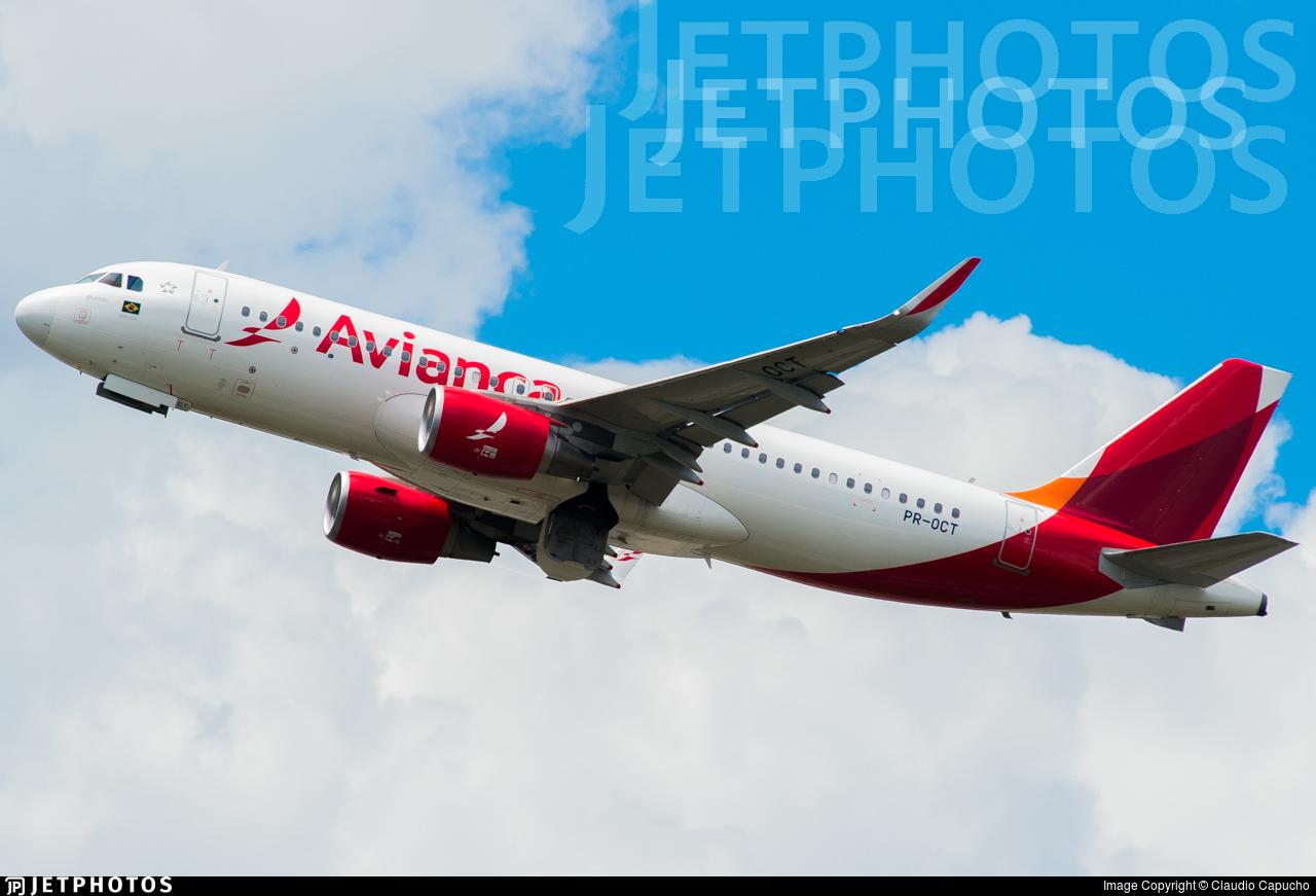 PR-OCT - Airbus A320-214 - Avianca Brasil