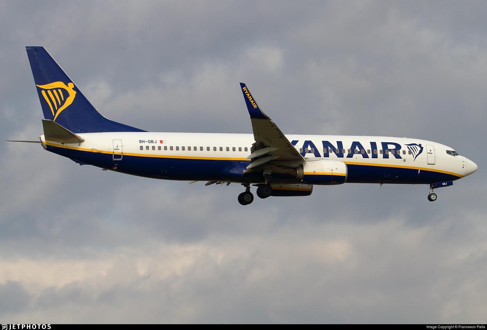 9H-QBJ - Boeing 737-8AS - Ryanair (Malta Air)