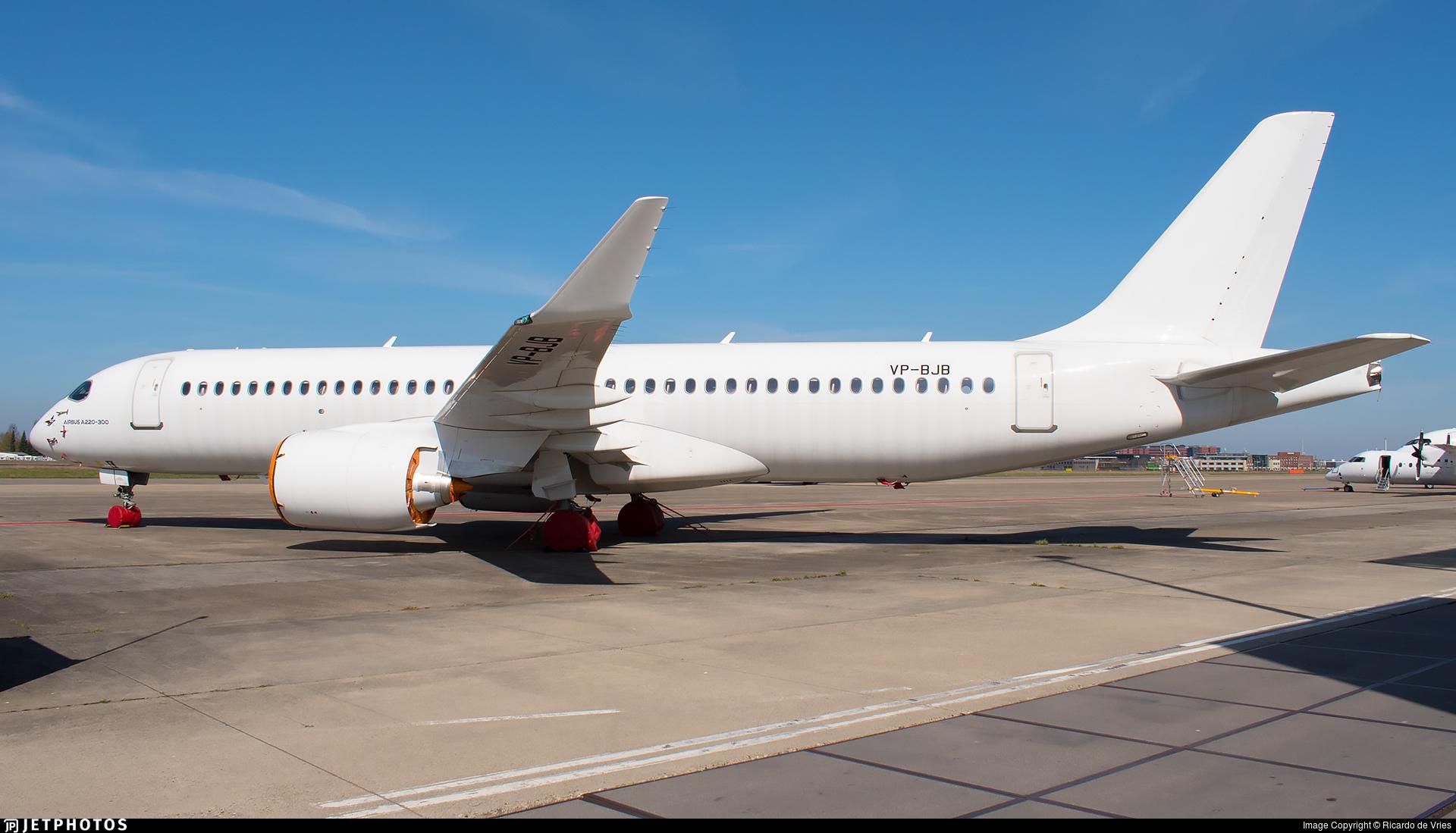 VP-BJB - Airbus A220-371 - Untitled