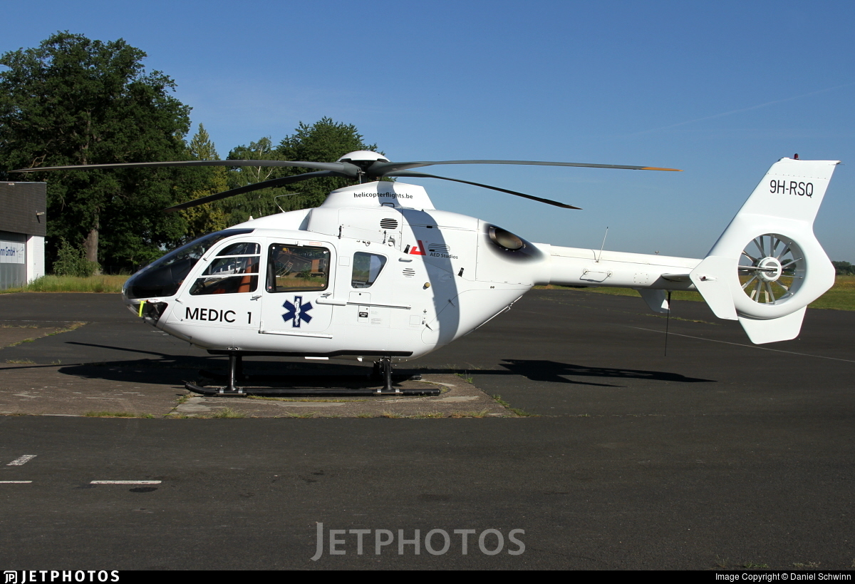 9H-RSQ - Eurocopter EC 135T1 - Heliventure