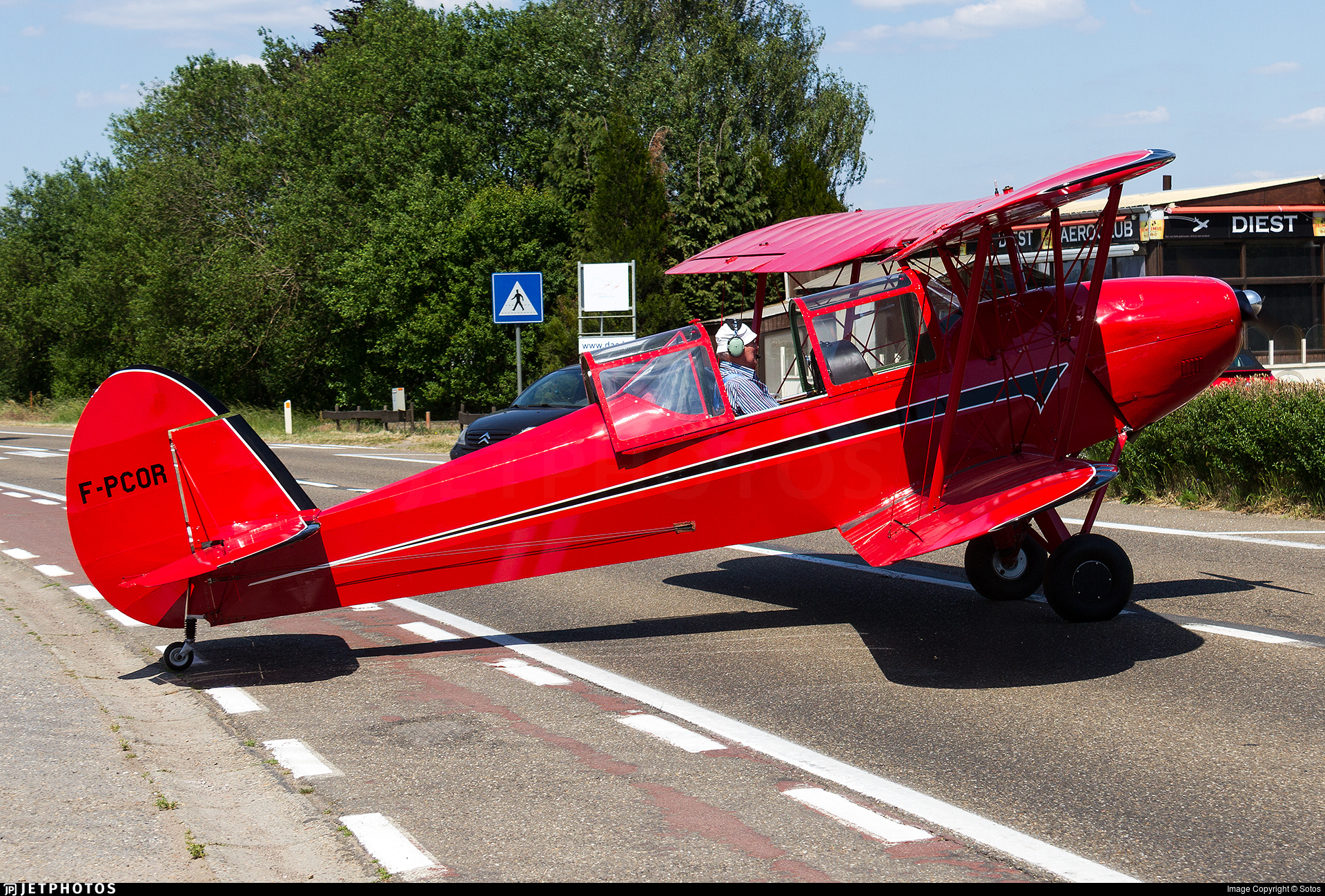 F-PCOR - Stampe and Vertongen SV-4L - Private