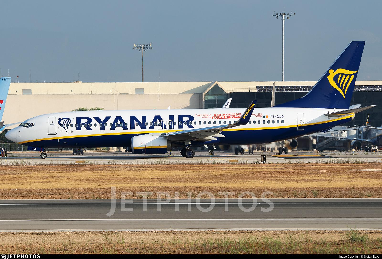 EI-GJO - Boeing 737-8AS - Ryanair