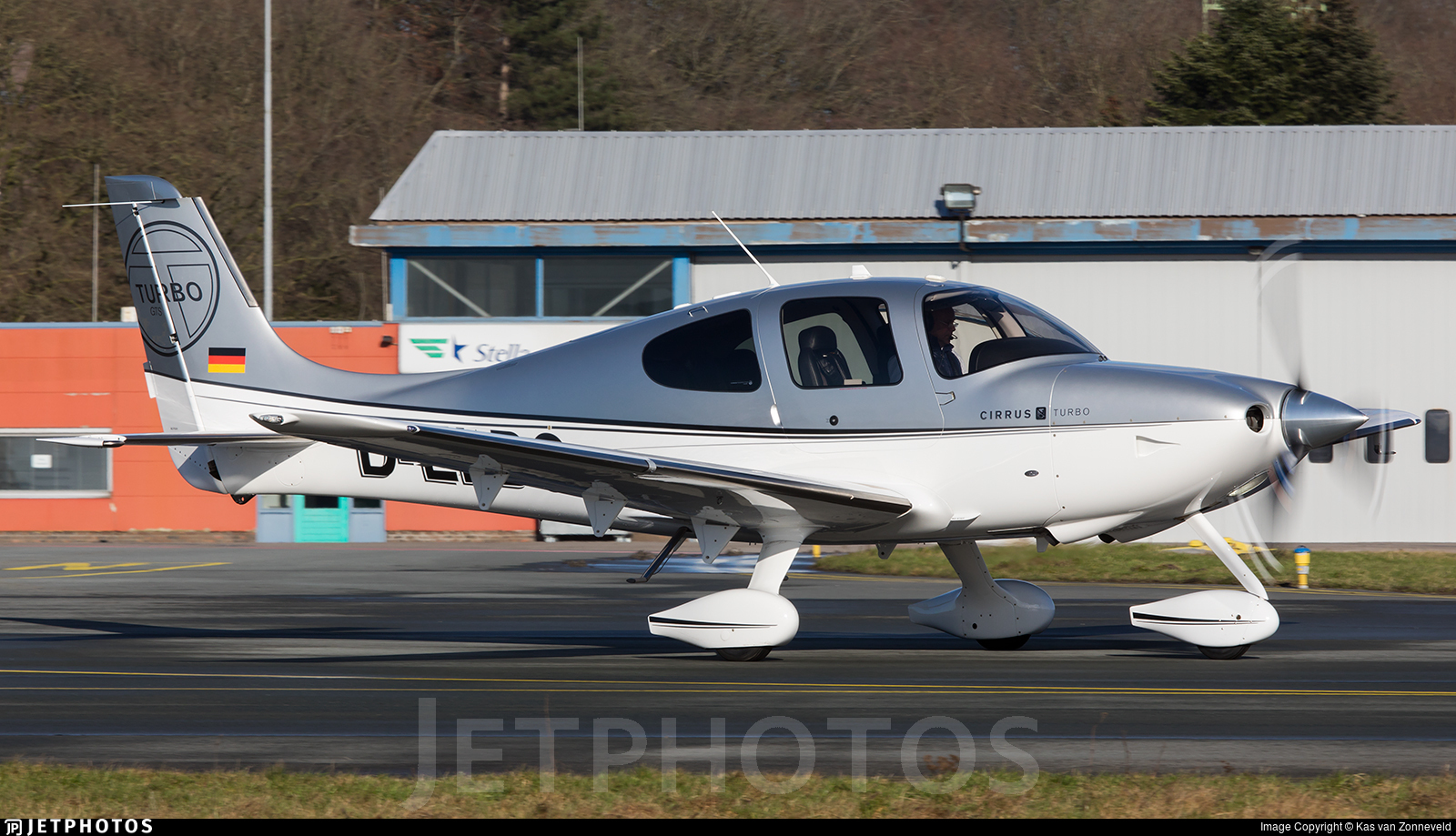 D-ELBG - Cirrus SR22-GTS G3 Turbo - Private