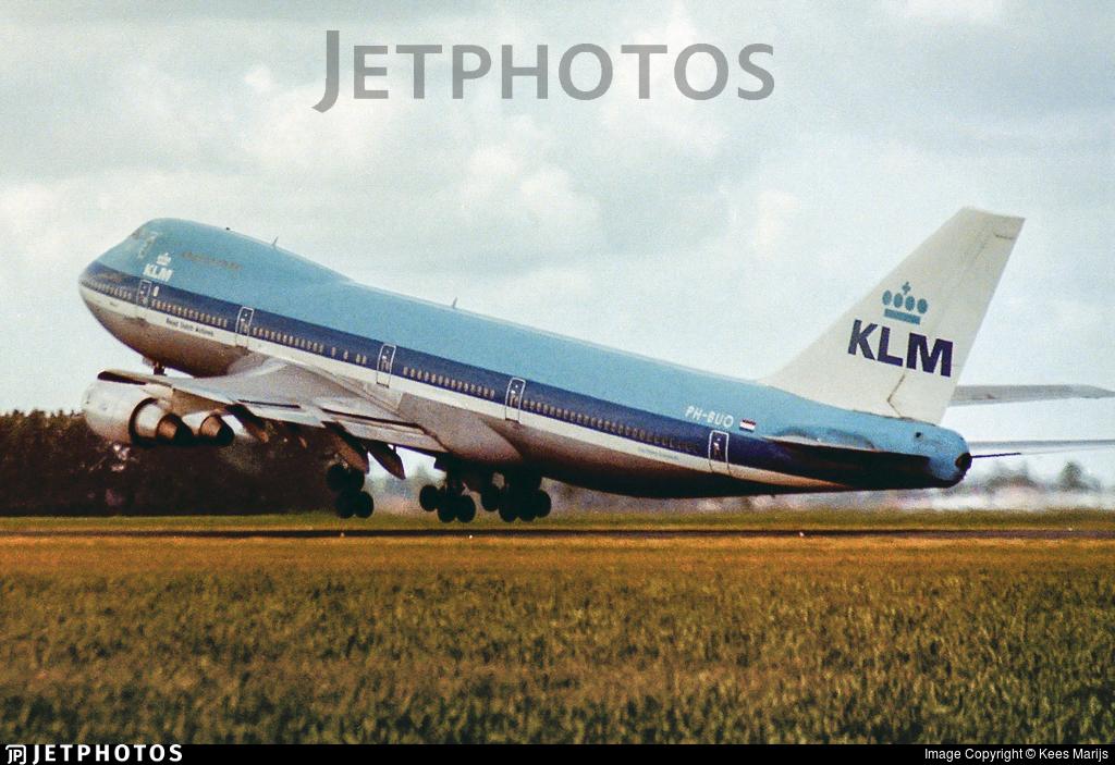 PH-BUO - Boeing 747-206B - KLM Royal Dutch Airlines