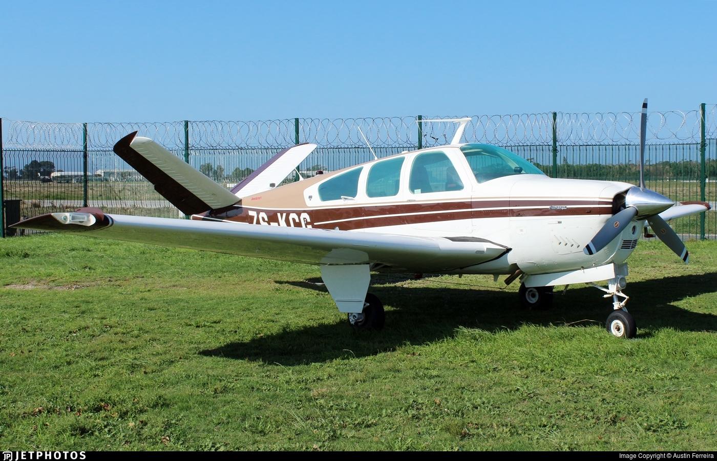 ZS-KCG - Beechcraft V35B Bonanza - Private