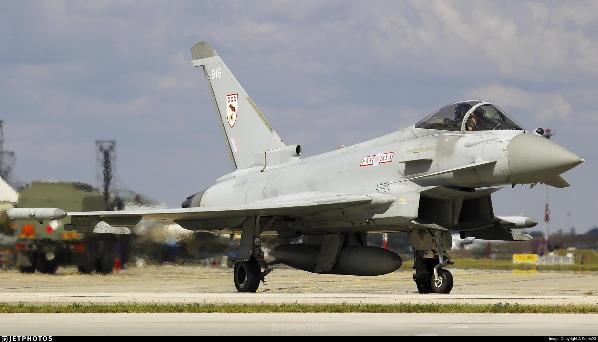 ZJ916 - Eurofighter Typhoon FGR.4 - United Kingdom - Royal Air Force (RAF)