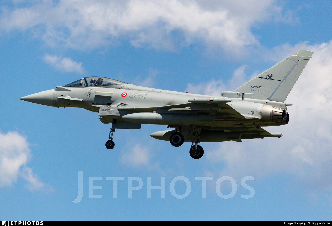 MM7342 - Eurofighter Typhoon EF2000 - Italy - Air Force