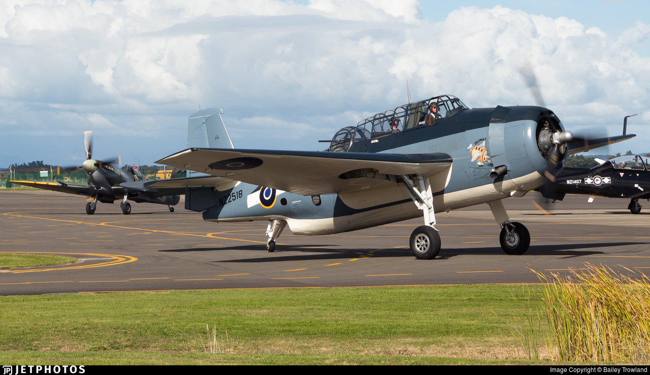 ZK-TBE - Grumman TBM-3E Avenger - Private