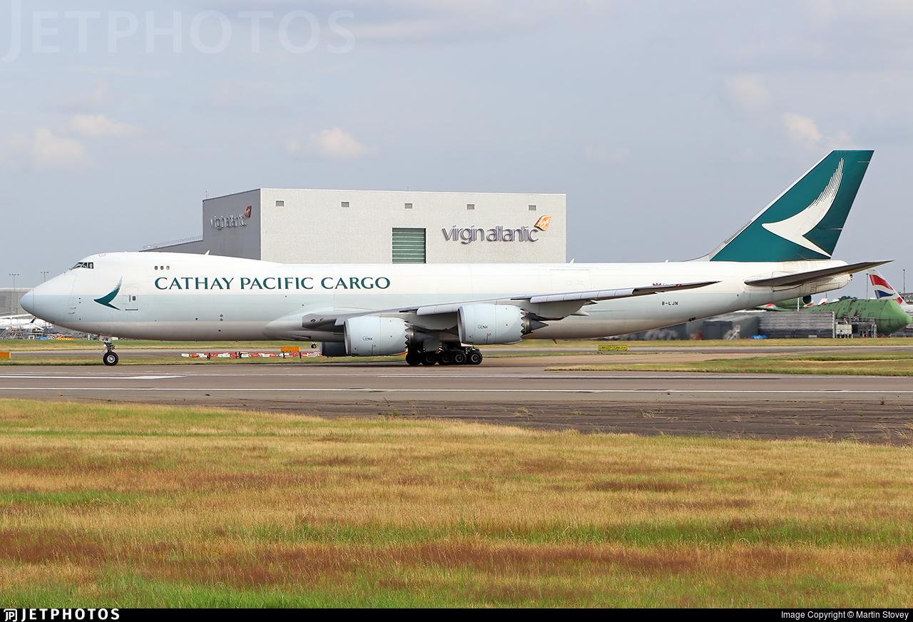 B-LJN - Boeing 747-867F - Cathay Pacific Cargo