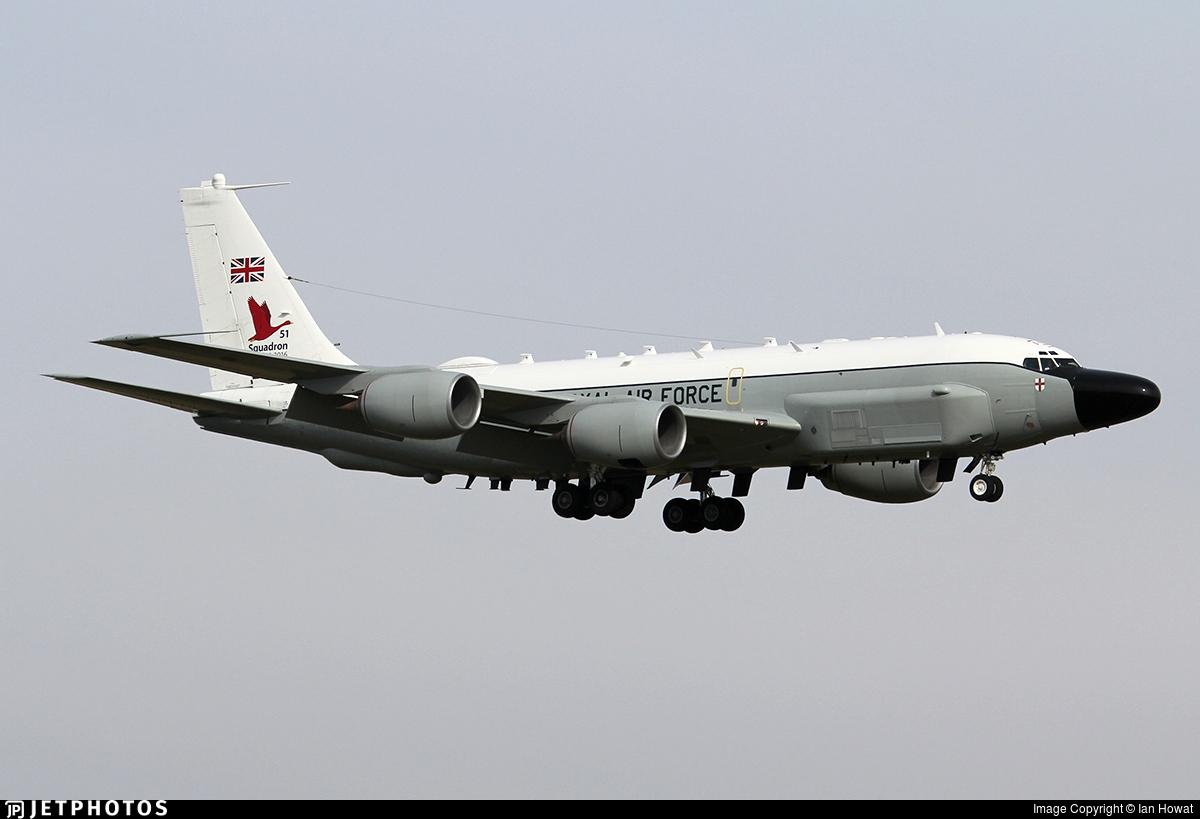 ZZ664 - Boeing RC-135W Rivet Joint - United Kingdom - Royal Air Force (RAF)