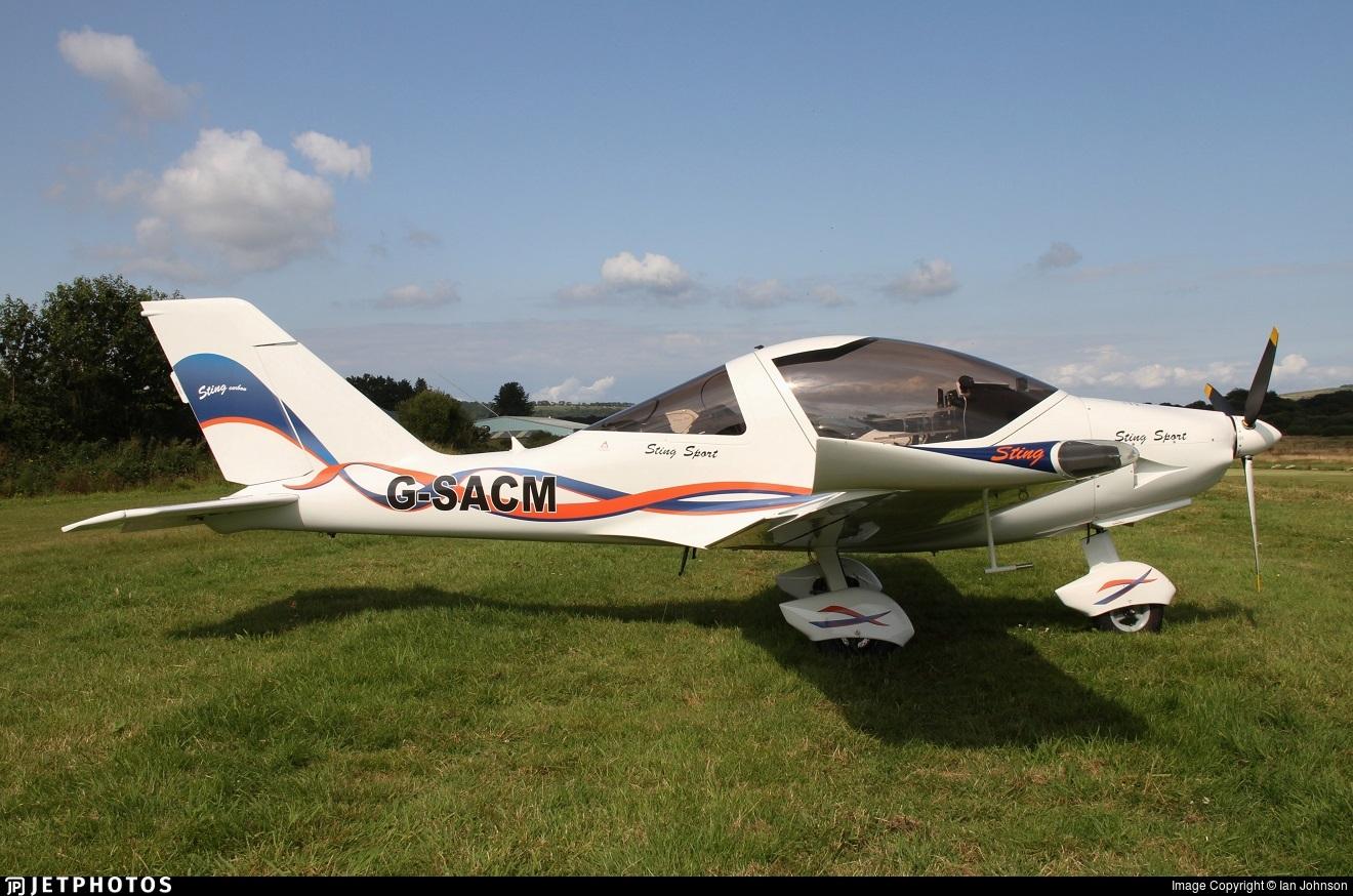 G-SACM - TL Ultralight TL-2000 Sting Carbon - Private