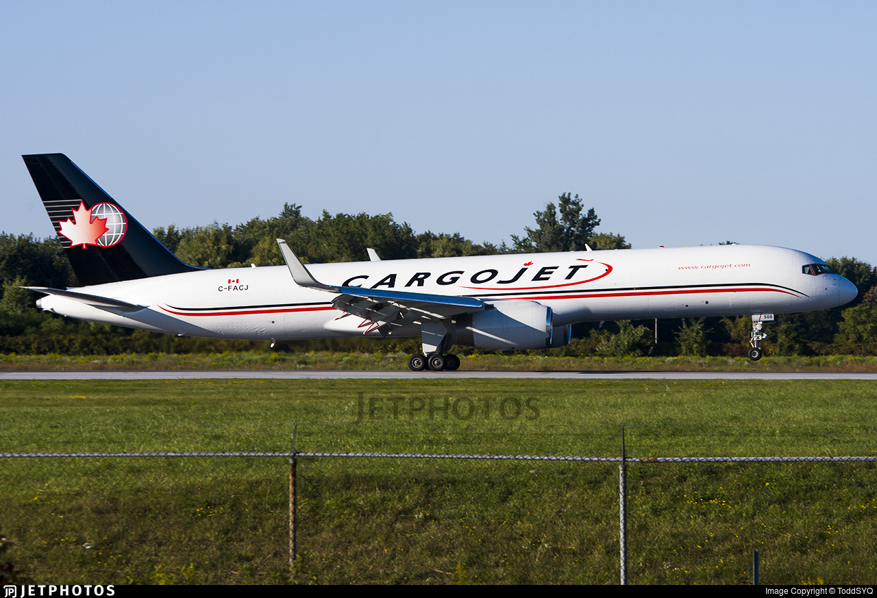 C-FACJ - Boeing 757-223(PCF) - Cargojet Airways