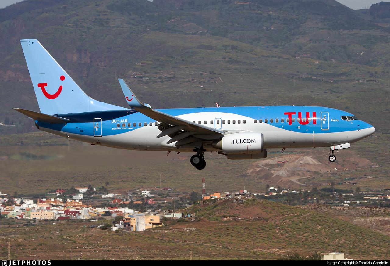 OO-JAR | Boeing 737-7K5 | TUI | Fabrizio Gandolfo | JetPhotos