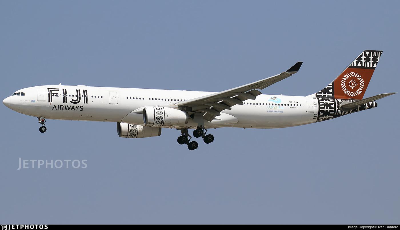 DQ-FJW - Airbus A330-343 - Fiji Airways