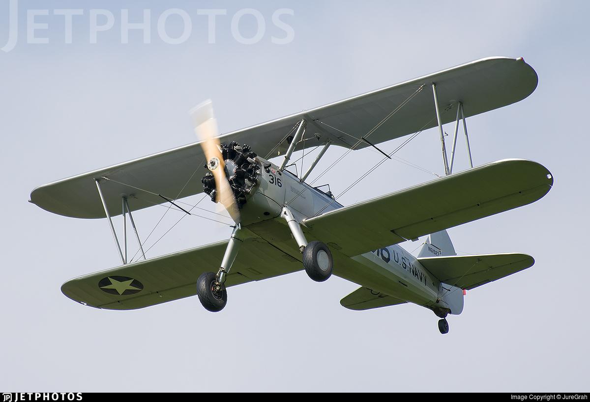 N61927 - Boeing A-75L Stearman - Private