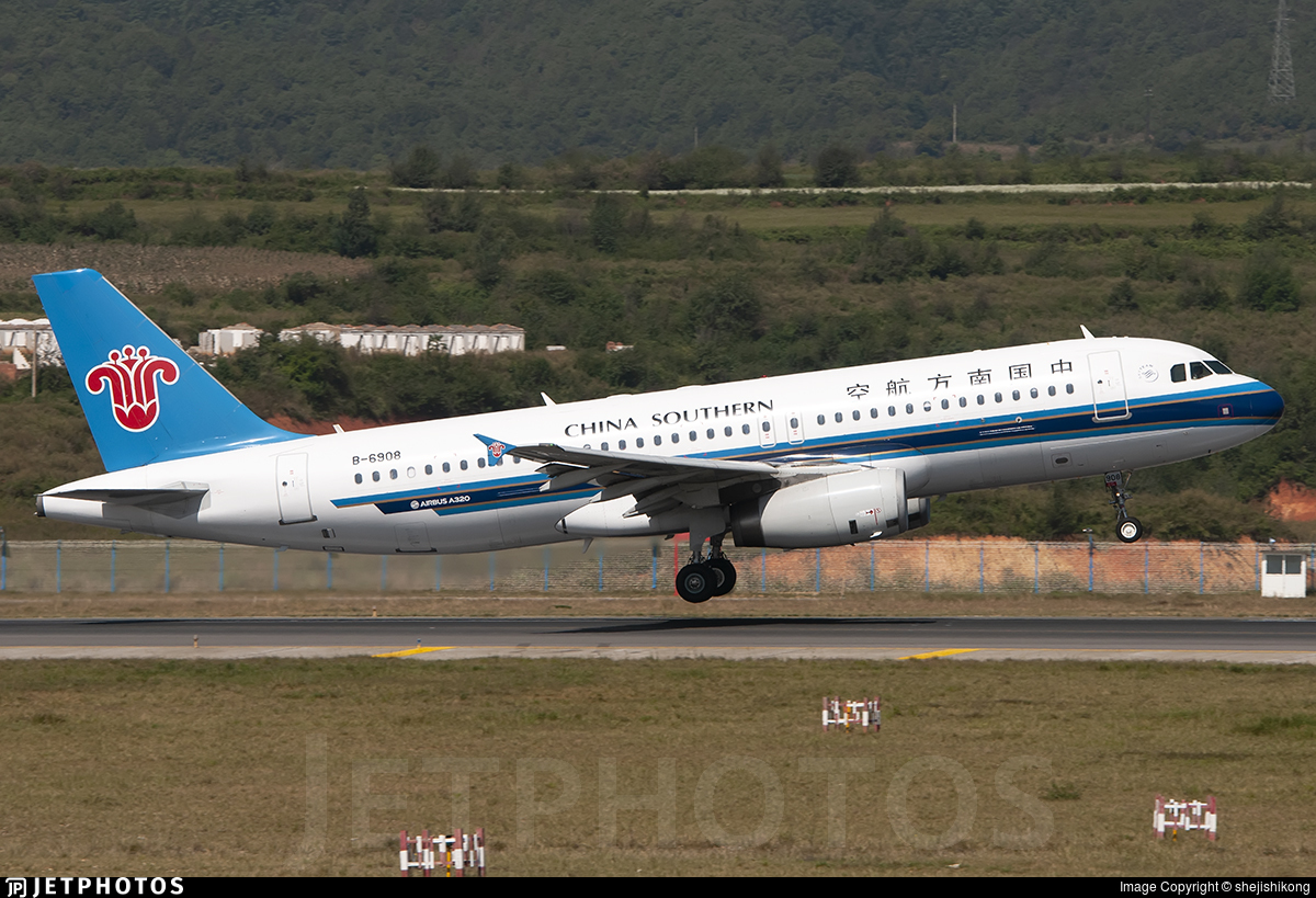 B-6908 - Airbus A320-232 - China Southern Airlines