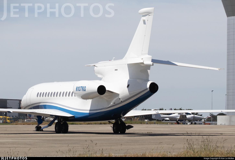 N107KG - Dassault Falcon 2000EX - Private