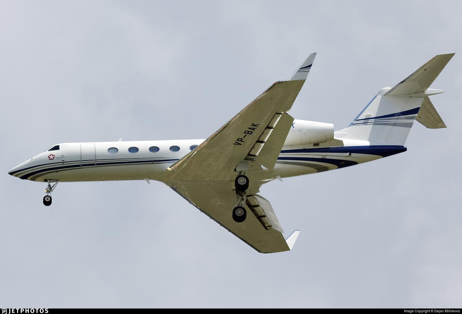 VP-BAK - Gulfstream G450 - Private