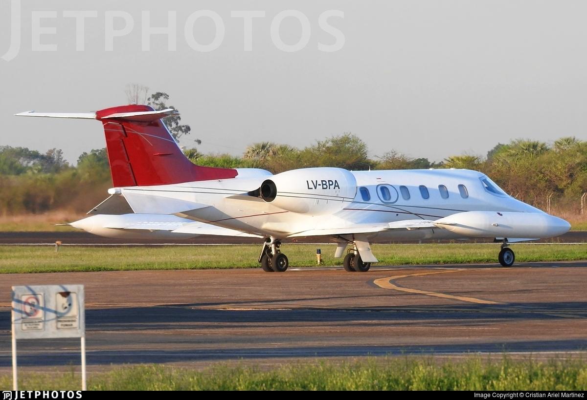 LV-BPA - Bombardier Learjet 35A - Flying America