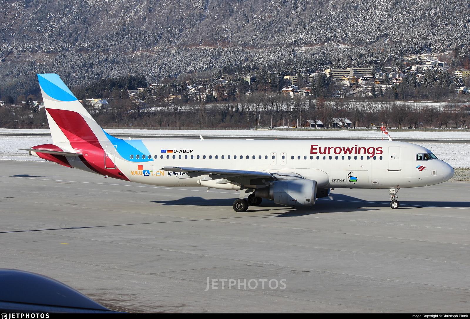 D-ABDP - Airbus A320-214 - Eurowings (Air Berlin)