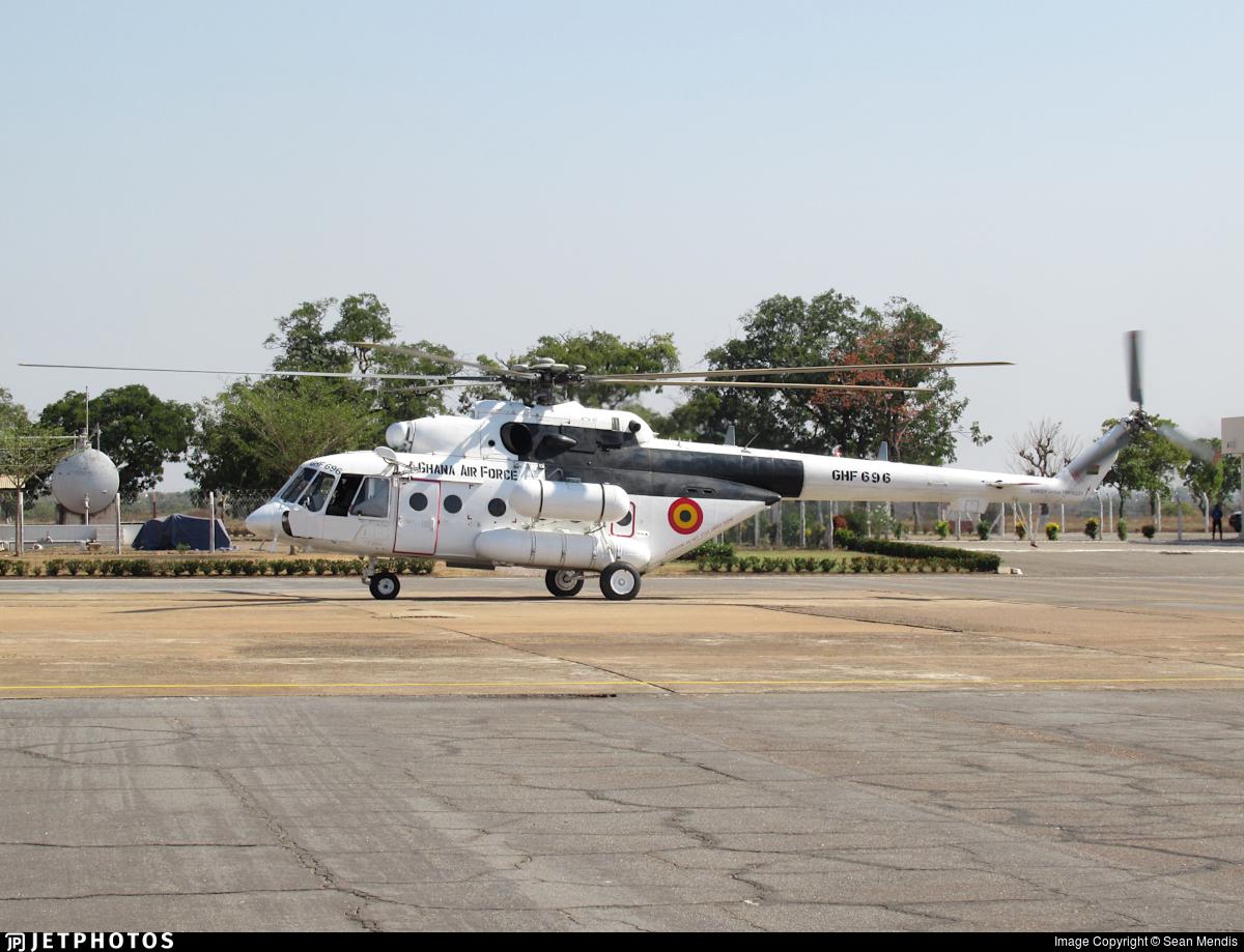 GHF696 - Mil Mi-171Sh Baikal - Ghana - Air Force
