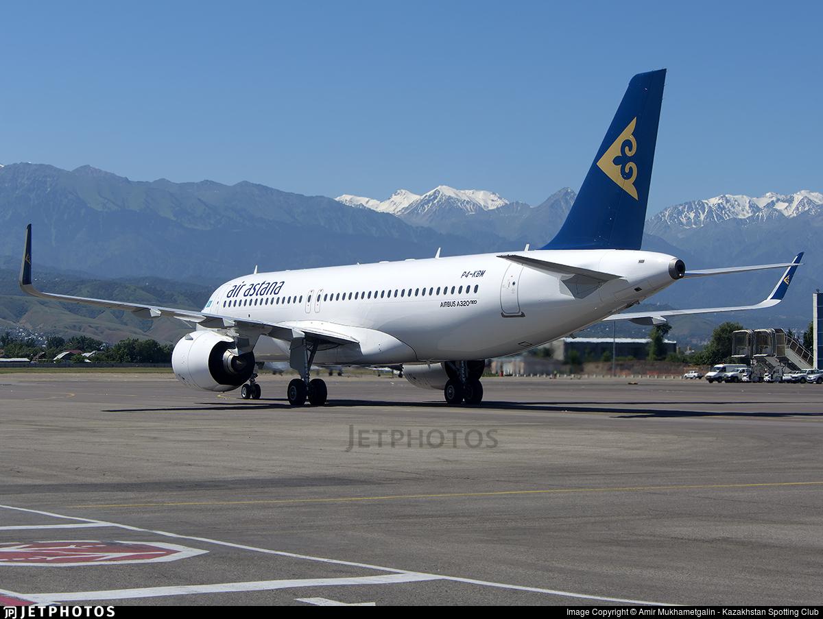 P4-KBM - Airbus A320-271N - Air Astana