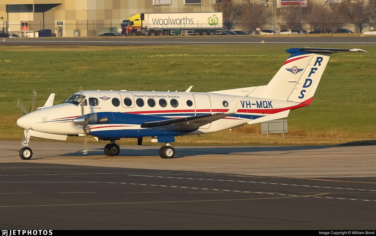 VH-MQK - Beechcraft B300C King Air 350C - Royal Flying Doctor Service of Australia (SE Section)