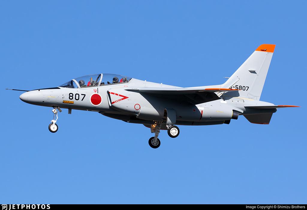 26-5807 - Kawasaki T-4 - Japan - Air Self Defence Force (JASDF)