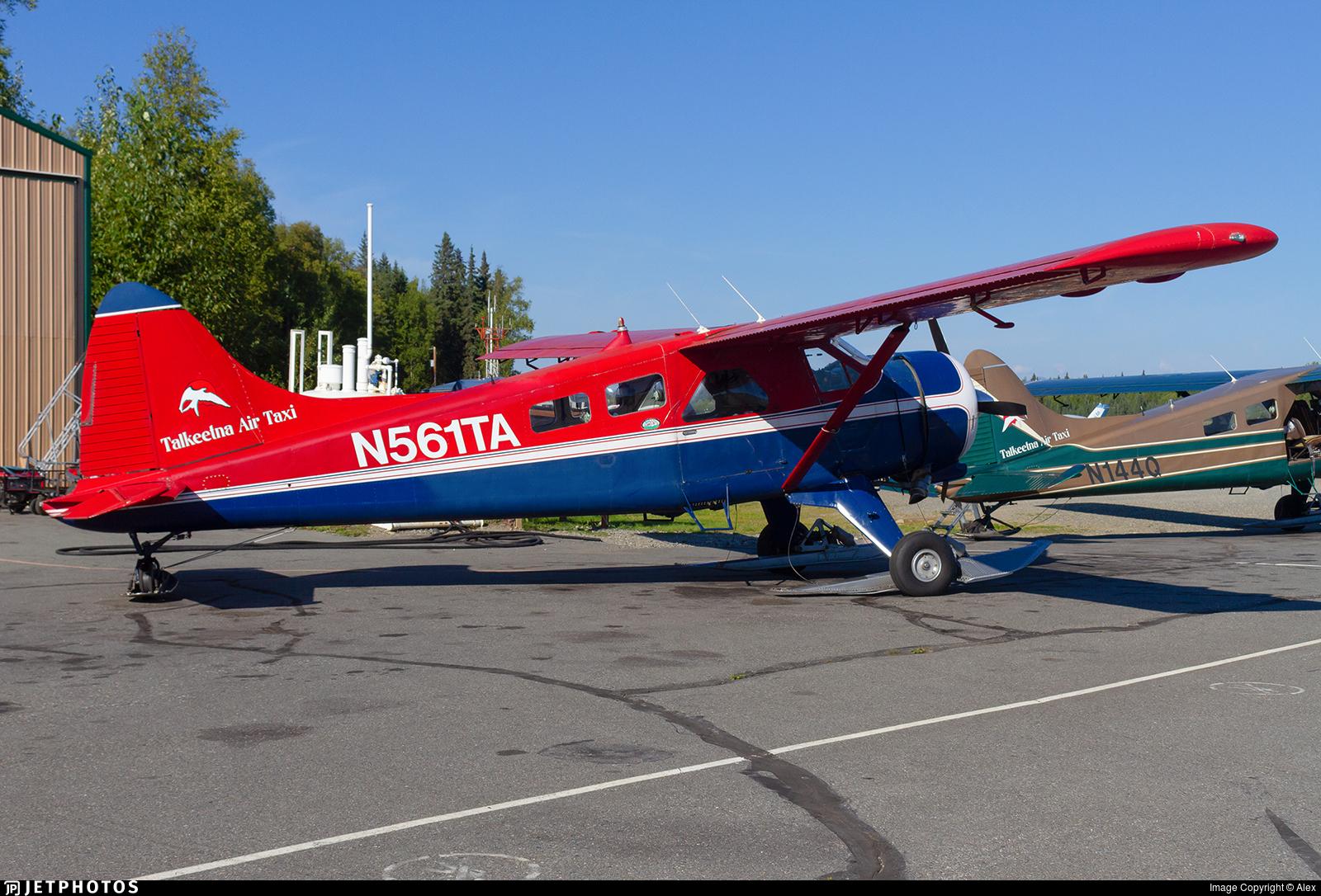 N561TA - De Havilland Canada DHC-2 Mk.I Beaver - Talkeetna Air Taxi