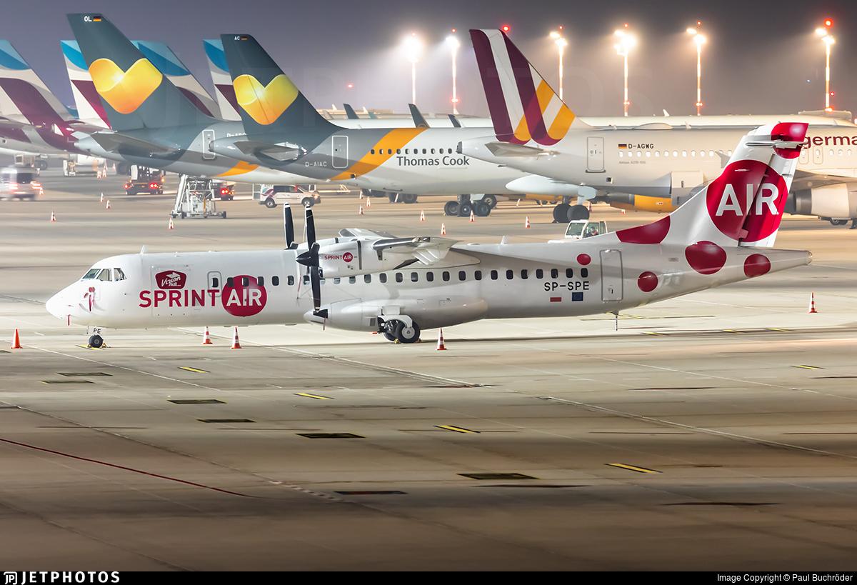 SP-SPE - ATR 72-202 - SprintAir