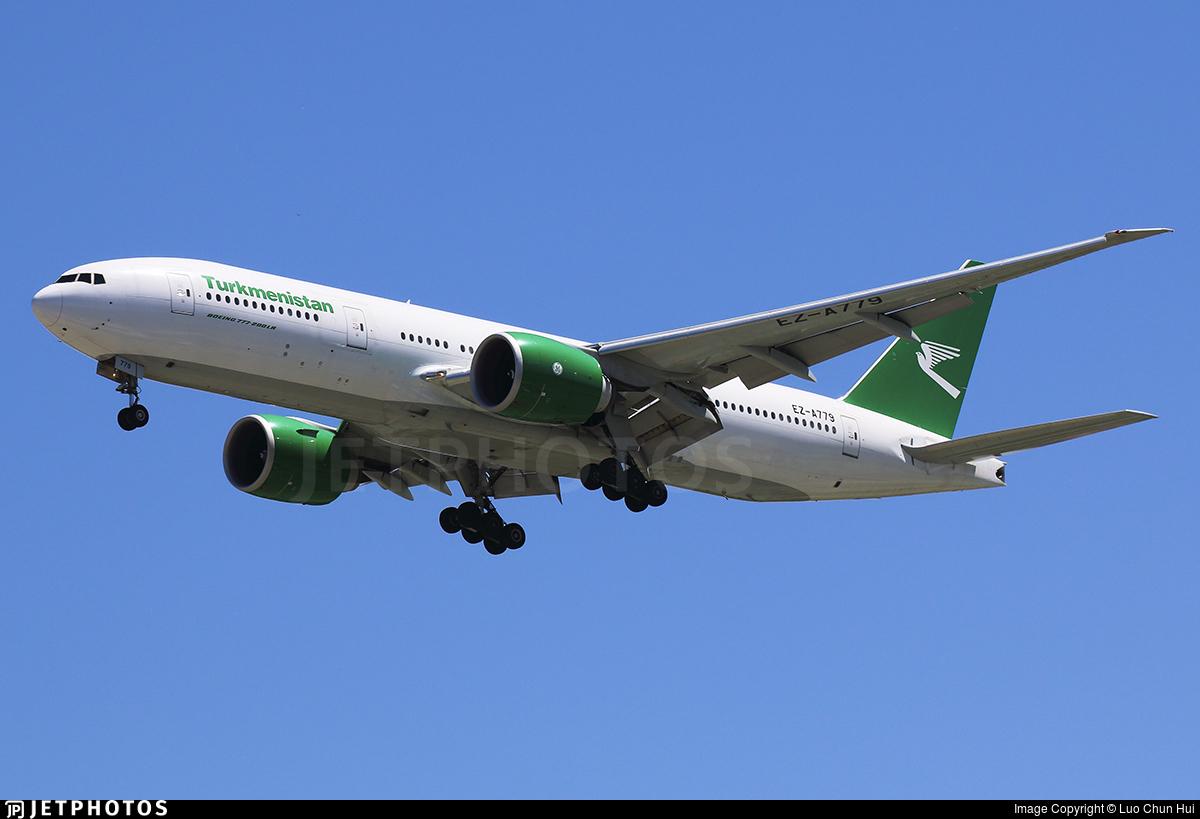EZ-A779 - Boeing 777-22KLR - Turkmenistan Airlines