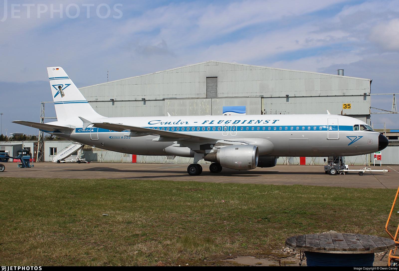 D-AICH - Airbus A320-212 - Condor