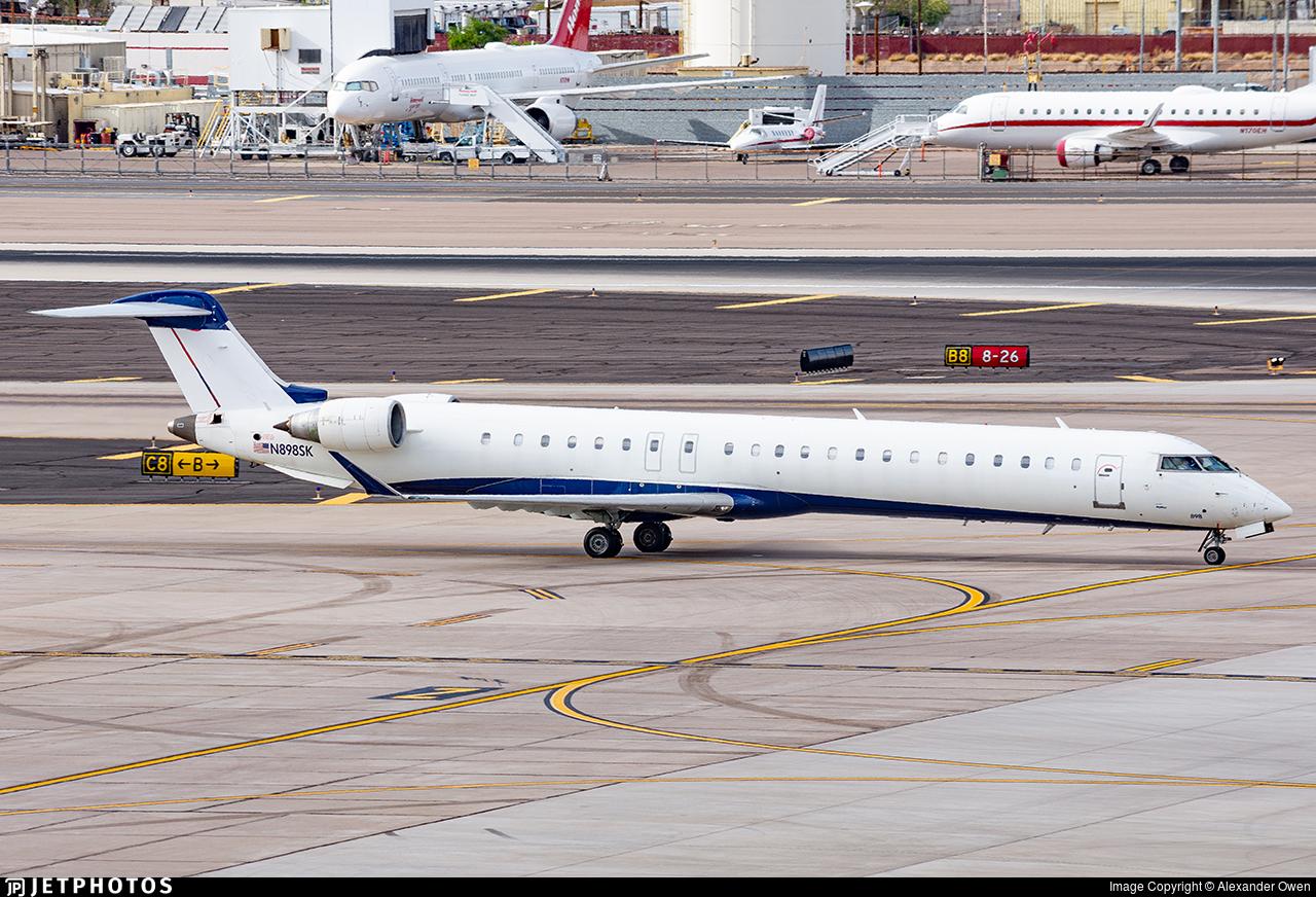 N898SK - Bombardier CRJ-900LR - SkyWest Airlines