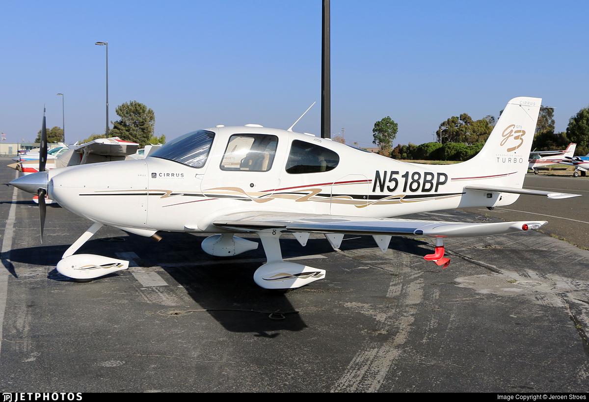 N518BP - Cirrus SR22-GTS G3 Turbo - Private